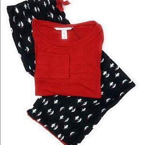 Victoria's Secret Flannel PJ's - Small Reg